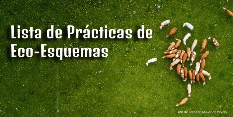 Lista de Prácticas de Eco-Esquemas
