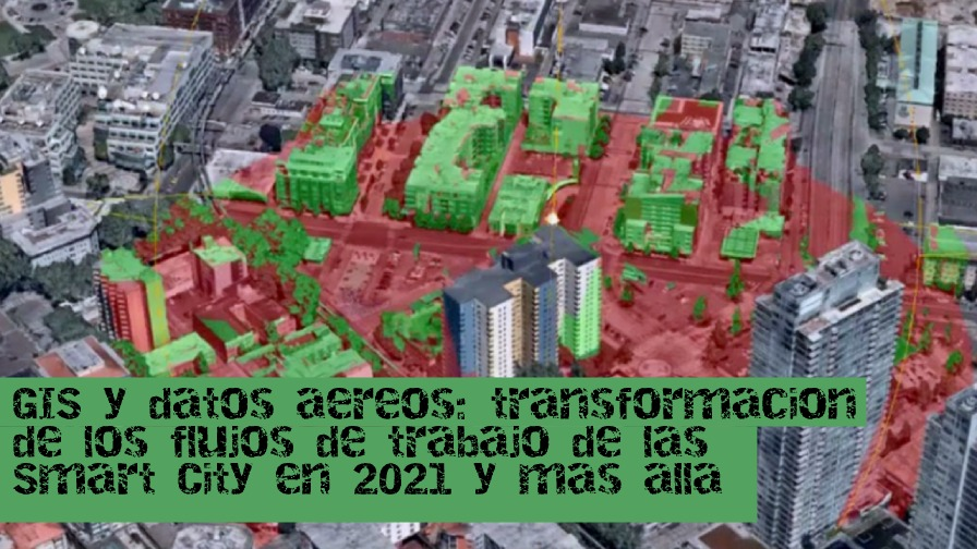 GIS y datos aéreos: transformación de los flujos de trabajo de las ciudades inteligentes en 2021 y más allá